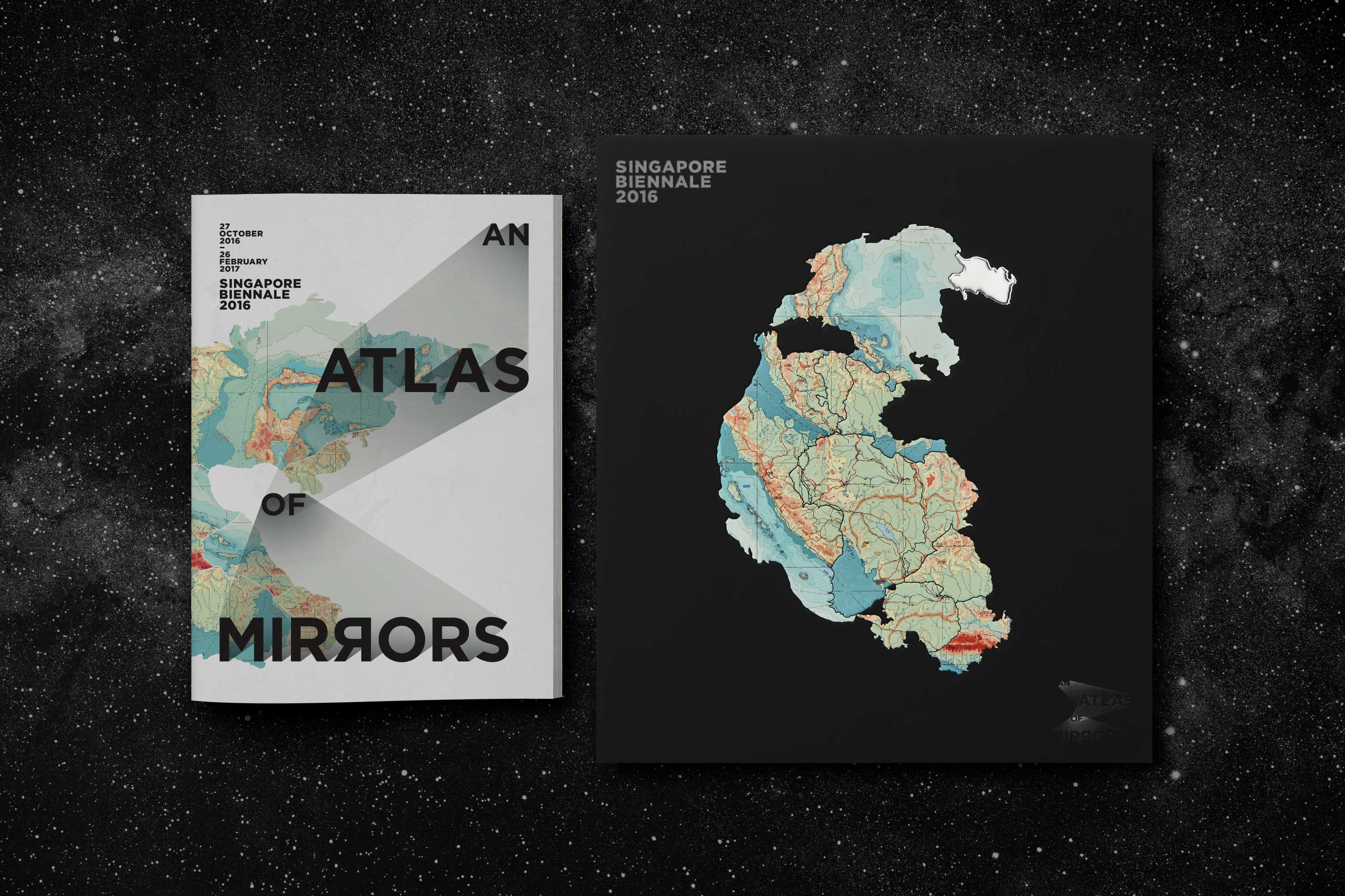 An Atlas of Mirrors – Short guide and art catalogue for Singapore Biennale 2016